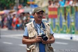 O repórter fotográfico Canindé Soares.