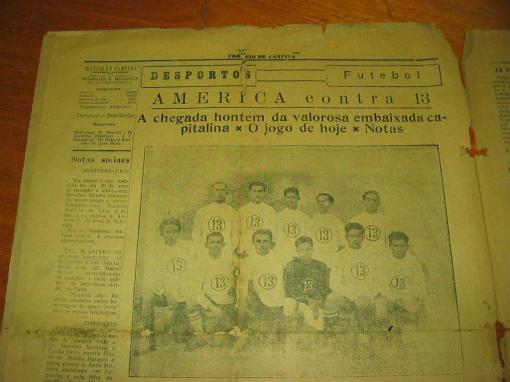Treze Futebol Clube, passado glorioso.