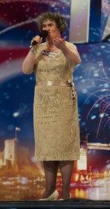 "Susan Boyle, a ""darling"" da hora."