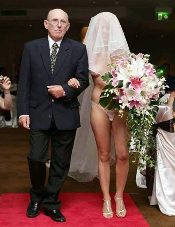 E lá vem a noiva!