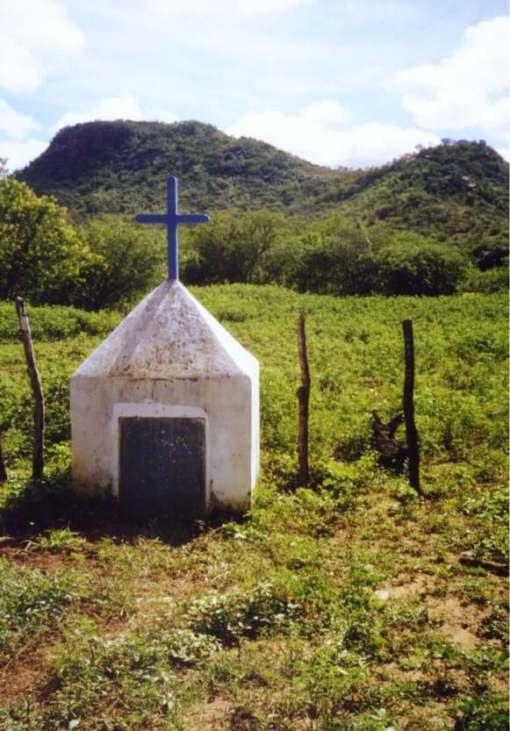 A cruz dos heróis, em Lucrécia-RN.