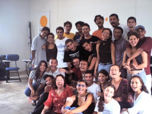 Depois de dar um curso, fotografar com os alunos...