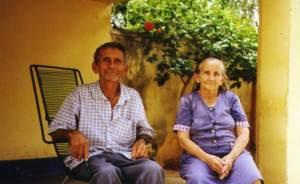 Zé Maia e Rita Cesária, memória viva da cidade.