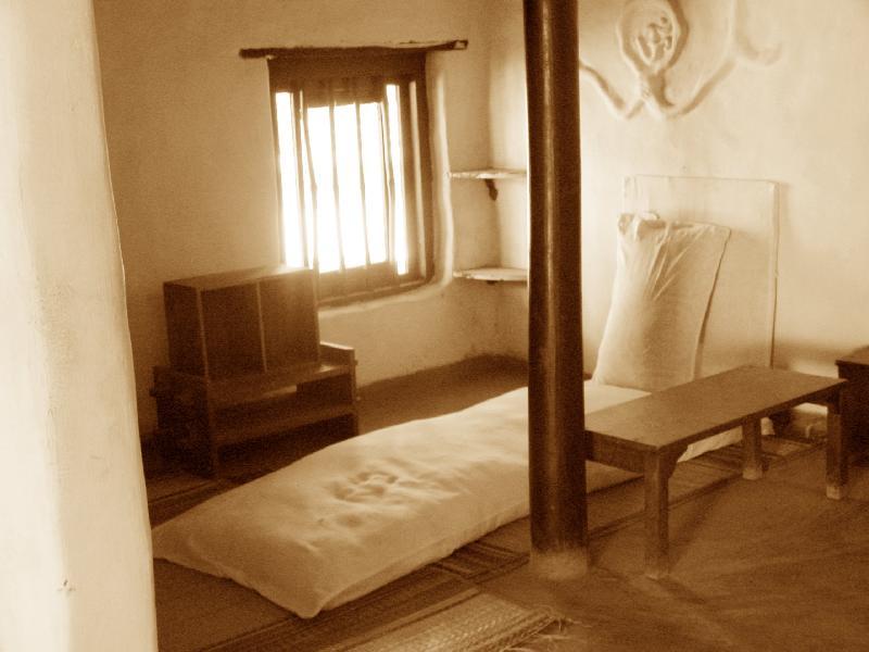 Cama de Gandhi.