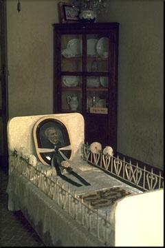 Cama do Padre Cícero Romão Batista.