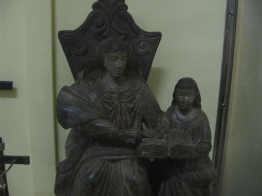 Santana Mestra, arte popular de Goiás.