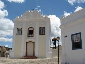 Igreja da Boa Morte, agora Museu de Arte Sacra. A única igreja barroca da cidade.