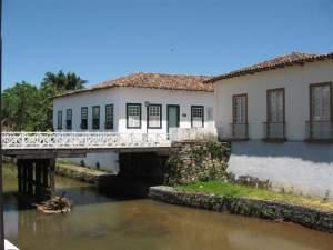 A casa velha da Ponte, morada de Cora Coralina, hoje museu.