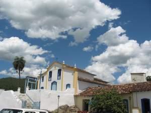 Igreja de São Francisco de Paula, legítimo exemplar do colonial goiano.