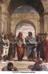 A Escola de Atenas, de Rafael.