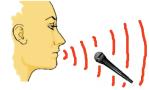 talking-through-mic