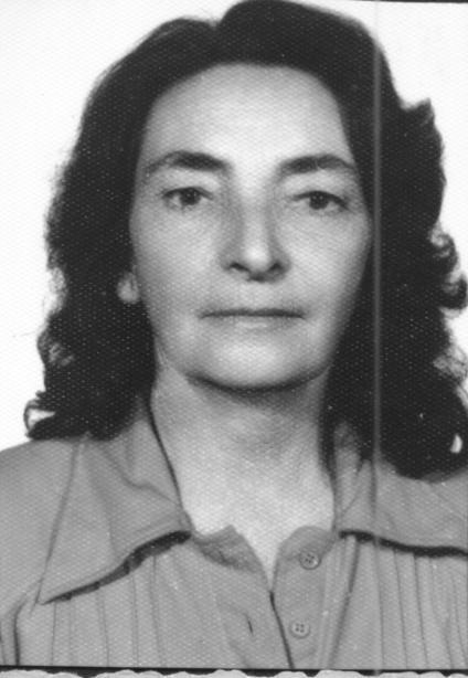 Cleuza Santa Cruz Tavares  1921 1997
