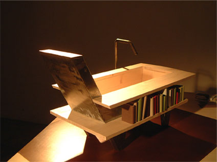 library-bathtub-armchair